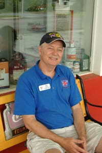 Ron Kew, President of British Motoring Club of Arkansas