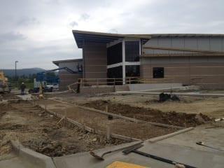 ouachita center construction