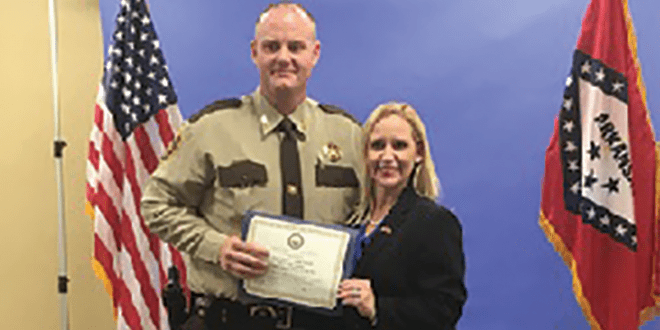 Rutledge Honors Chief Deputy as LEO of the Year ...